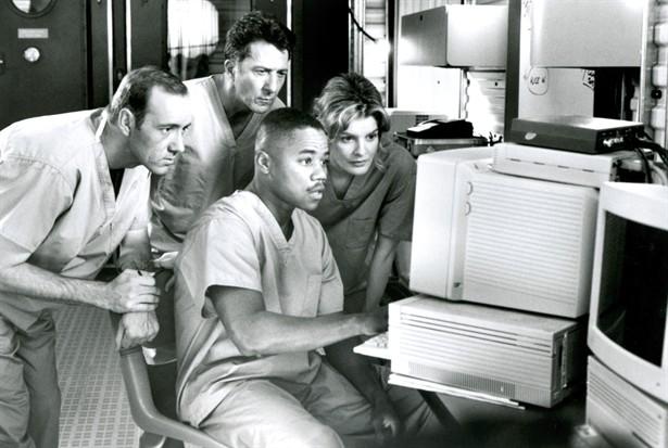 Cuba Gooding Jr.,Dustin Hoffman,Kevin Spacey,Rene Russo