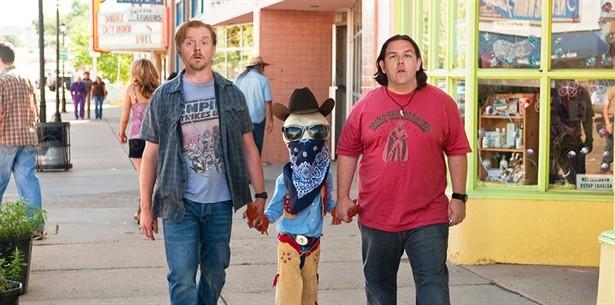 Nick Frost,Seth Rogen,Simon Pegg