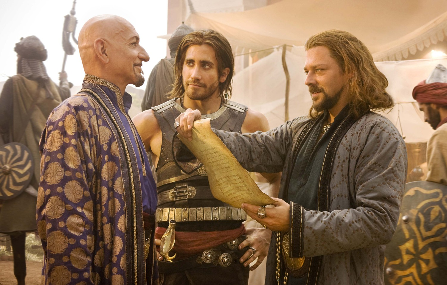 Ben Kingsley,Jake Gyllenhaal,Richard Coyle