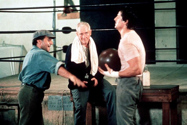 Burgess Meredith,Sylvester Stallone