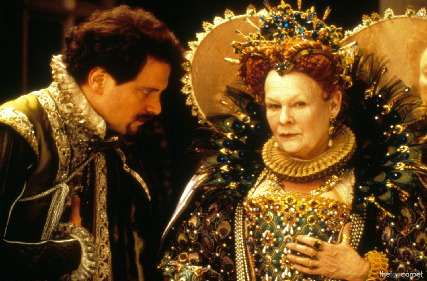 Colin Firth,Judi Dench