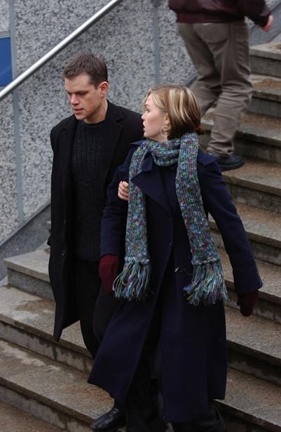 Julia Stiles,Matt Damon