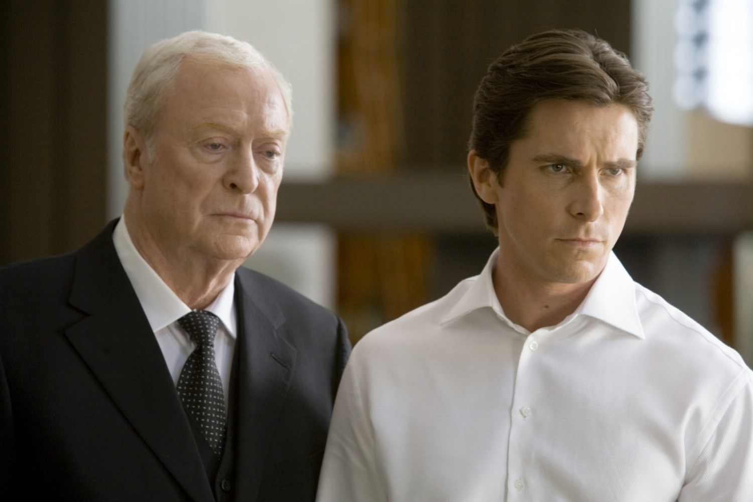 Christian Bale,Michael Caine