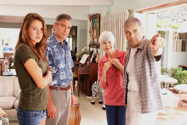 George Clooney,Robert Forster,Shailene Woodley