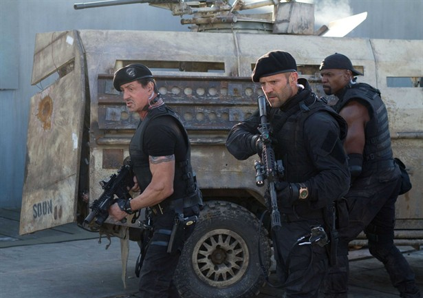 Jason Statham,Sylvester Stallone,Terry Crews