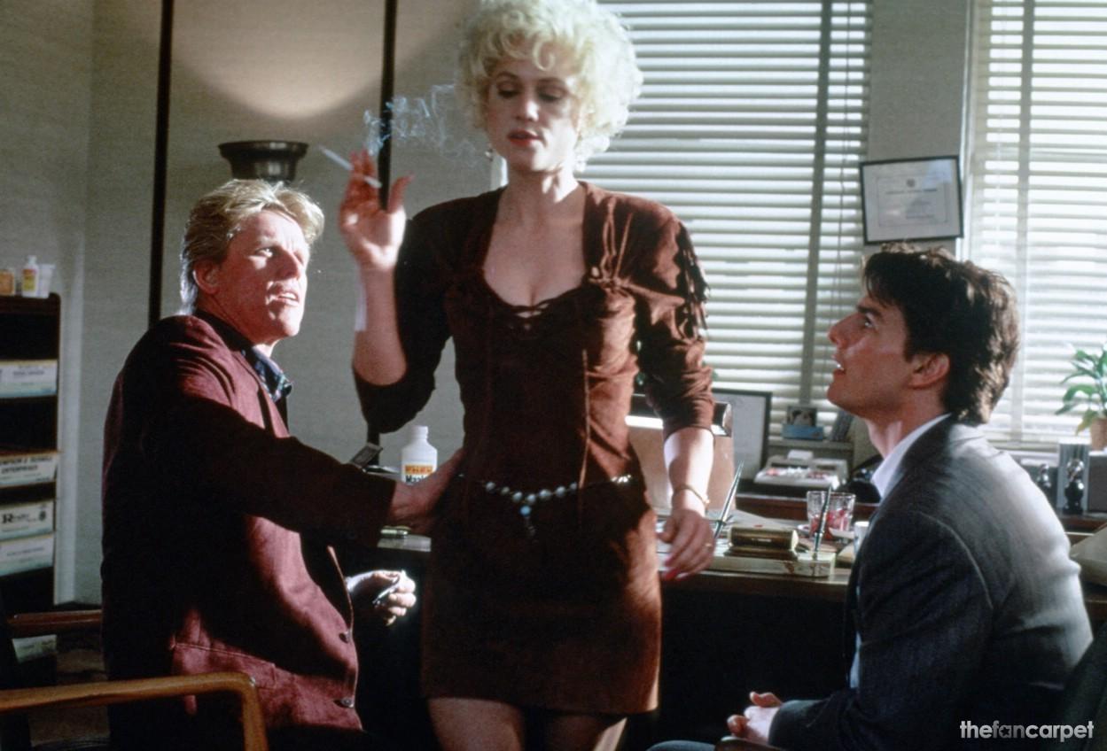 Gary Busey,Holly Hunter,Tom Cruise