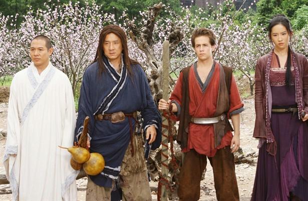 Jackie Chan,Jet Li