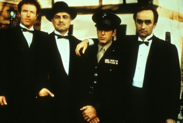 Al Pacino,James Caan,Marlon Brando