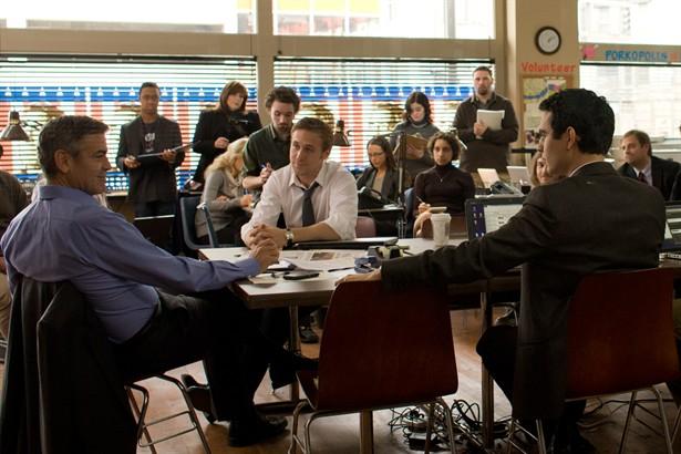 George Clooney,Max Minghella,Ryan Gosling