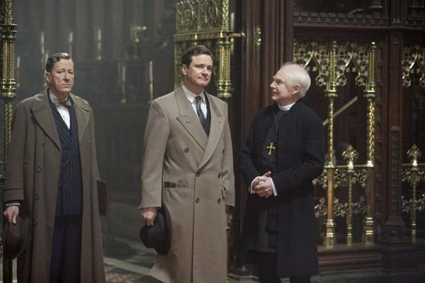 Colin Firth,Derek Jacobi,Geoffrey Rush