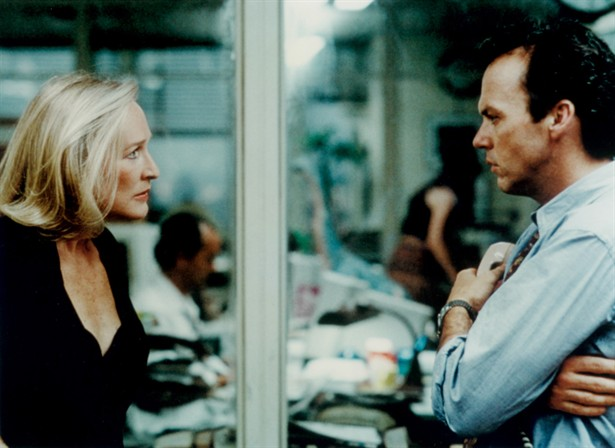 Glenn Close,Michael Keaton
