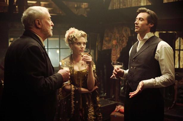 Hugh Jackman,Michael Caine,Scarlett Johansson
