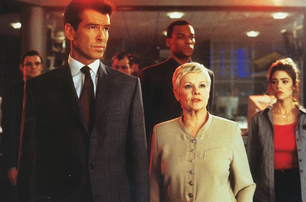 Judi Dench,Pierce Brosnan
