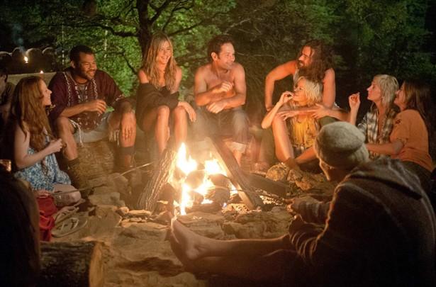 Jennifer Aniston,Justin Theroux,Kathryn Hahn,Lauren Ambrose,Malin Akerman,Paul Rudd