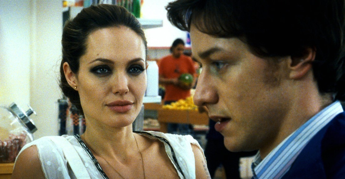 Angelina Jolie,James McAvoy