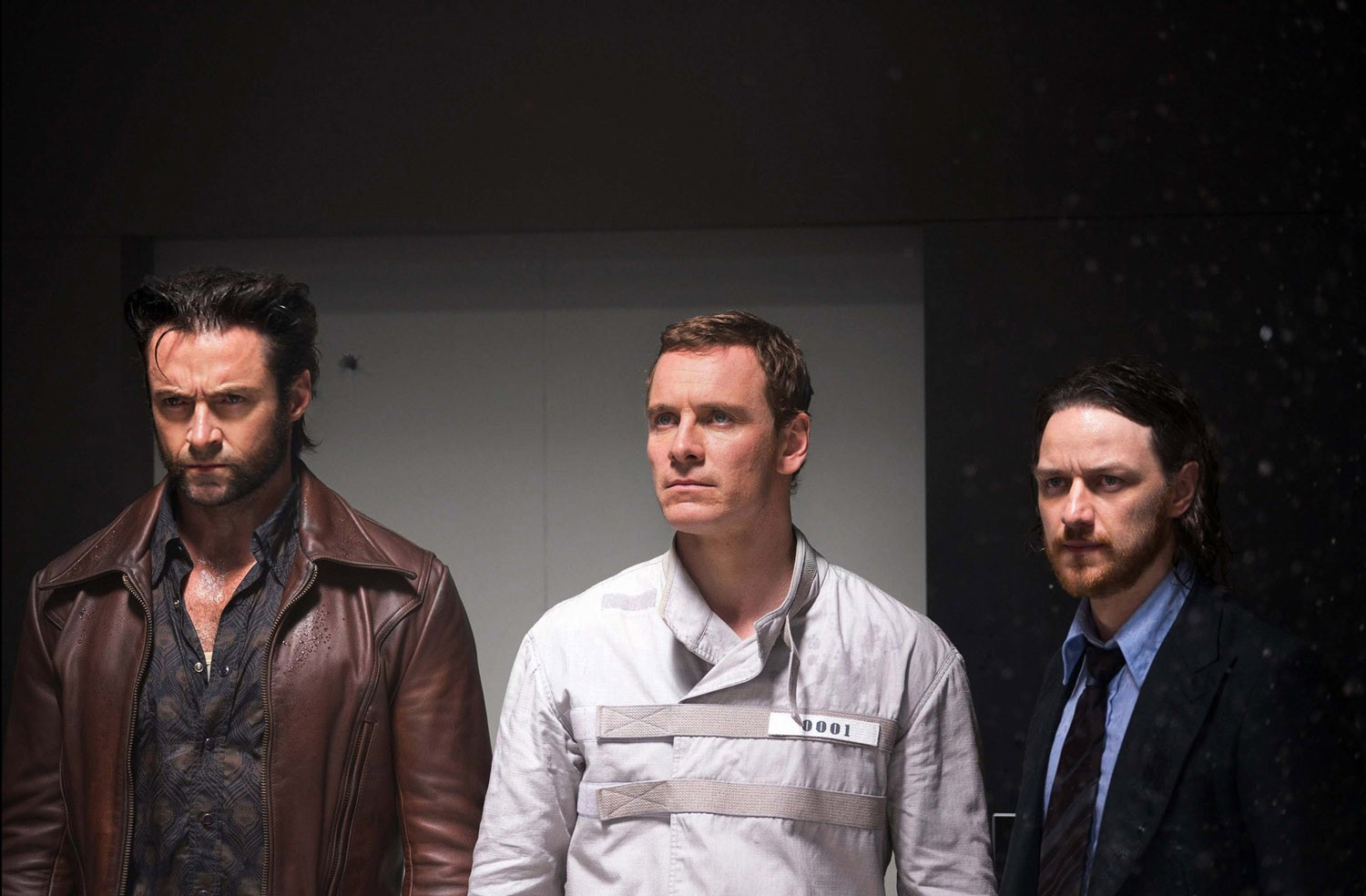 Hugh Jackman,James McAvoy,Michael Fassbender