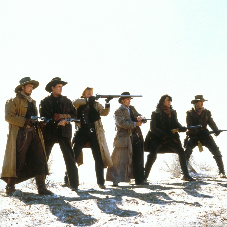 Charlie Sheen,Dermot Mulroney,Emilio Estevez,Kiefer Sutherland,Lou Diamond Phillips