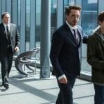 Jon Favreau, Robert Downey Jr., Tom Holland
