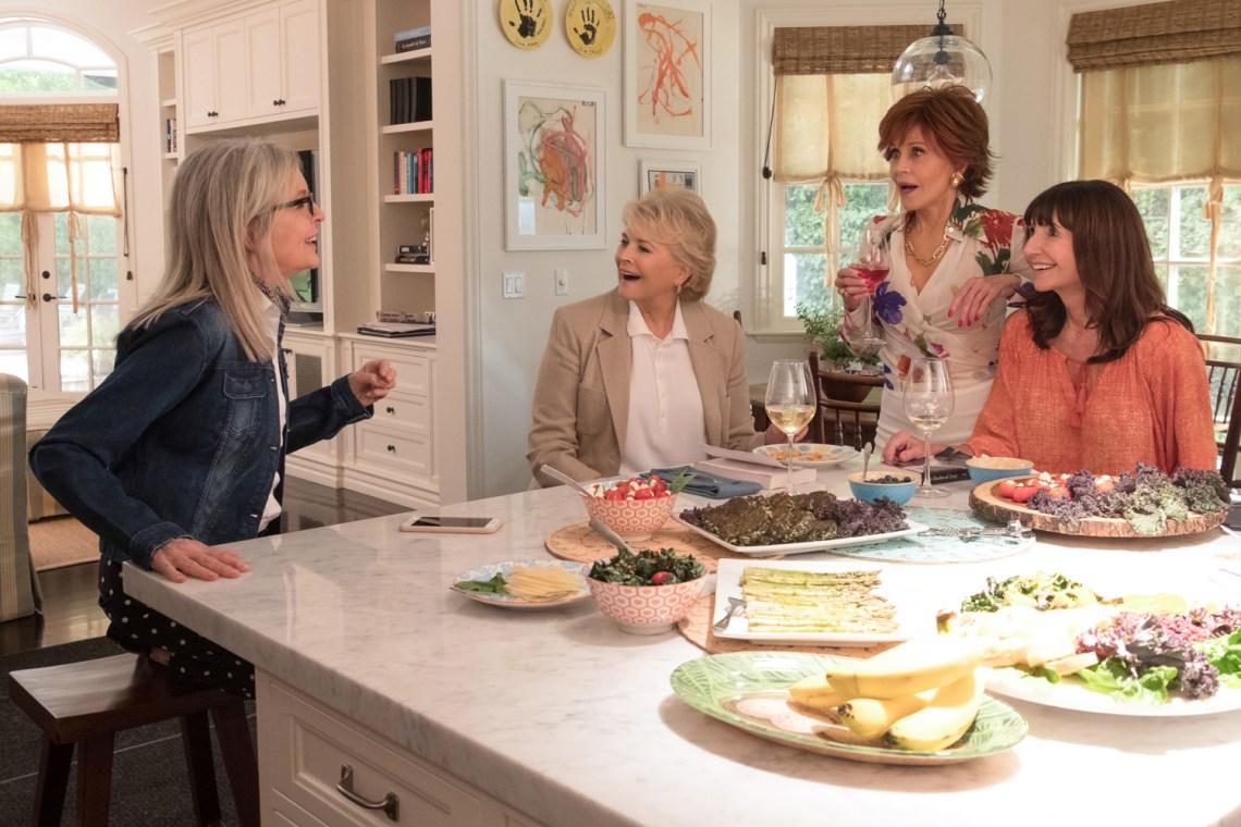 Diane Keaton, Candice Bergen, Jane Fonda, Mary Steenburgen