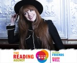 Nicola Roberts, Amanda Prowse + Natasha Devon Combat Loneliness + Promote Wellbeing With The Reading Agency's READ, TALK, SHARE