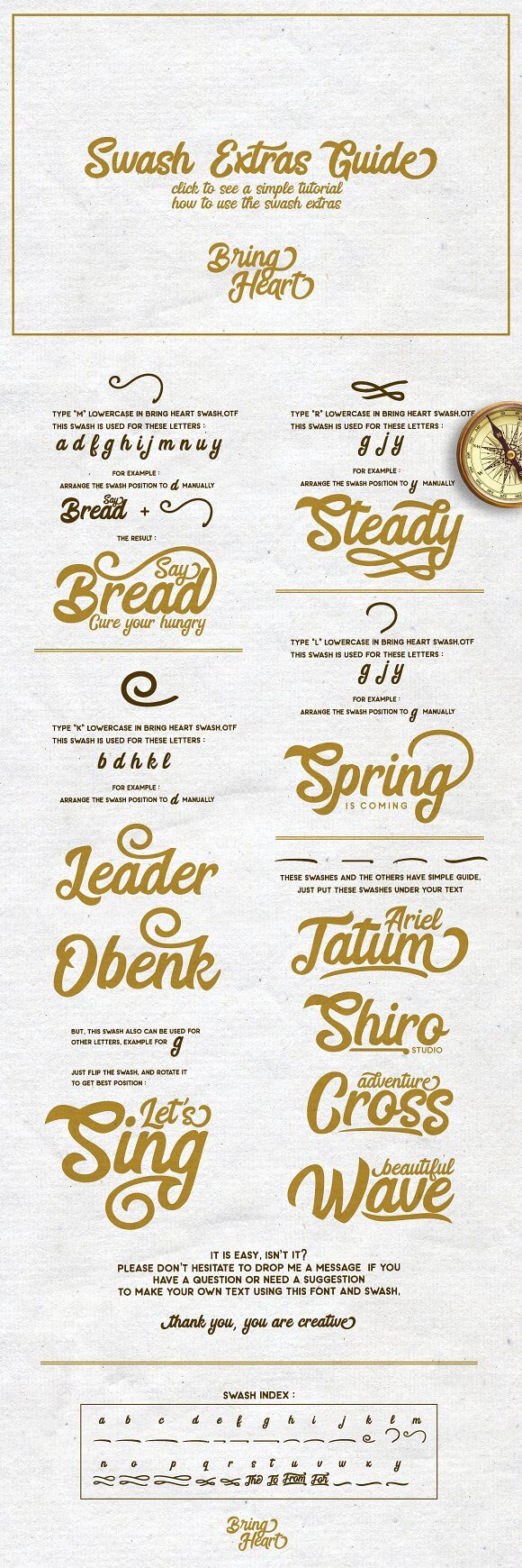 Best Selling Gorgeous Fonts 10-extras-guide-