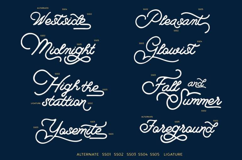 Best Selling Gorgeous Fonts 7-1-2