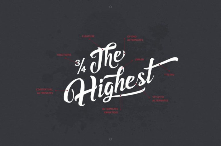 Best Selling Gorgeous Fonts Asiyah2