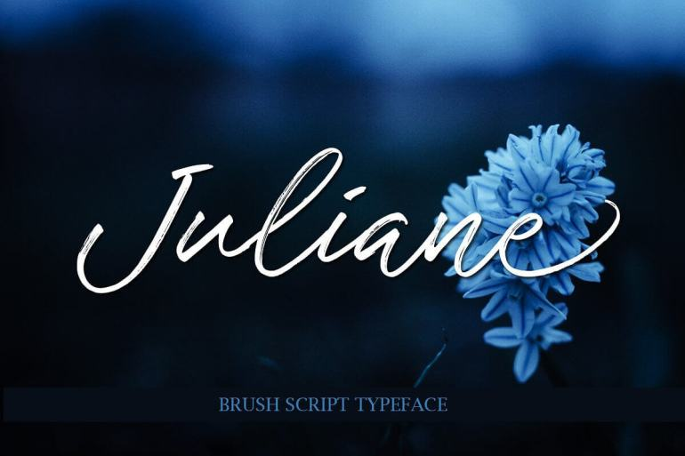 Best Selling Gorgeous Fonts Juliane1