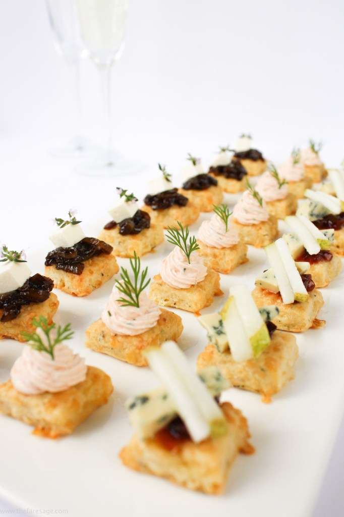 The ultimate canap the fare sage for Blue cheese canape