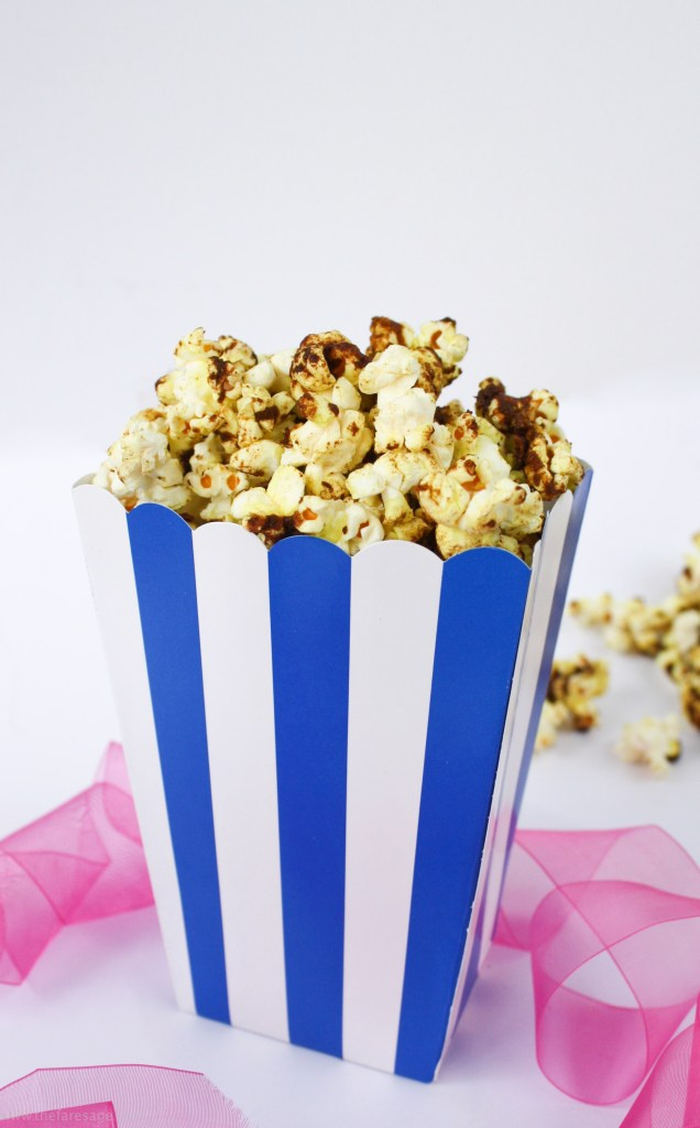 Sweet Salty and Spicy Popcorn | The Fare Sage