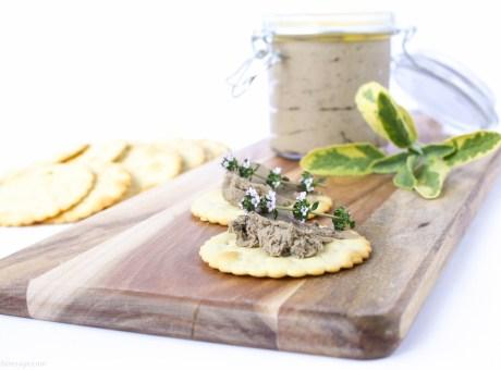 Chicken Liver Pate | The Fare Sage