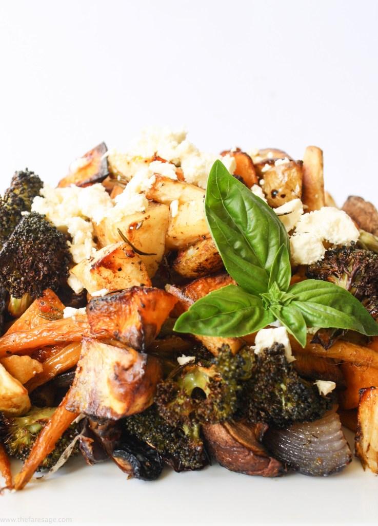 Roasted Vegetable Salad   The Fare Sage