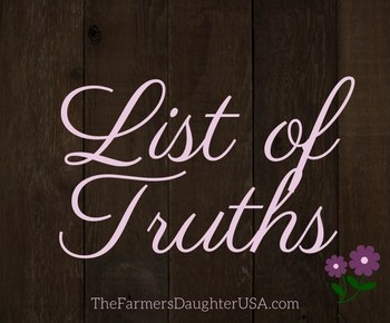 List of Truths