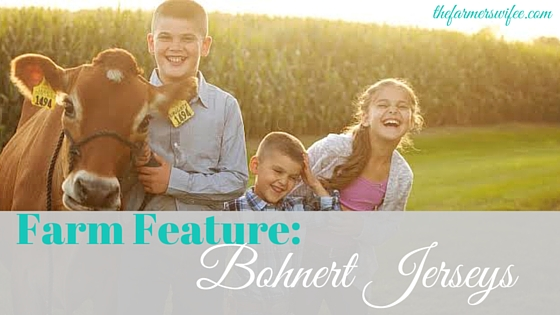 Farm Feature: Bohnert Jerseys
