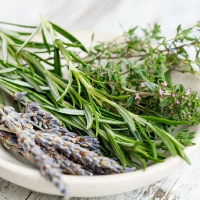 herbs add another variety of flavor to foods