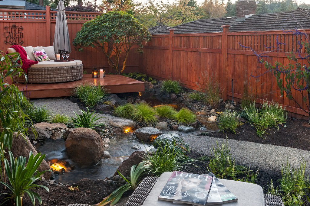 How To Create A Beautiful Backyard Oasis - The Fashionable ... on Beautiful Backyard Ideas id=69934