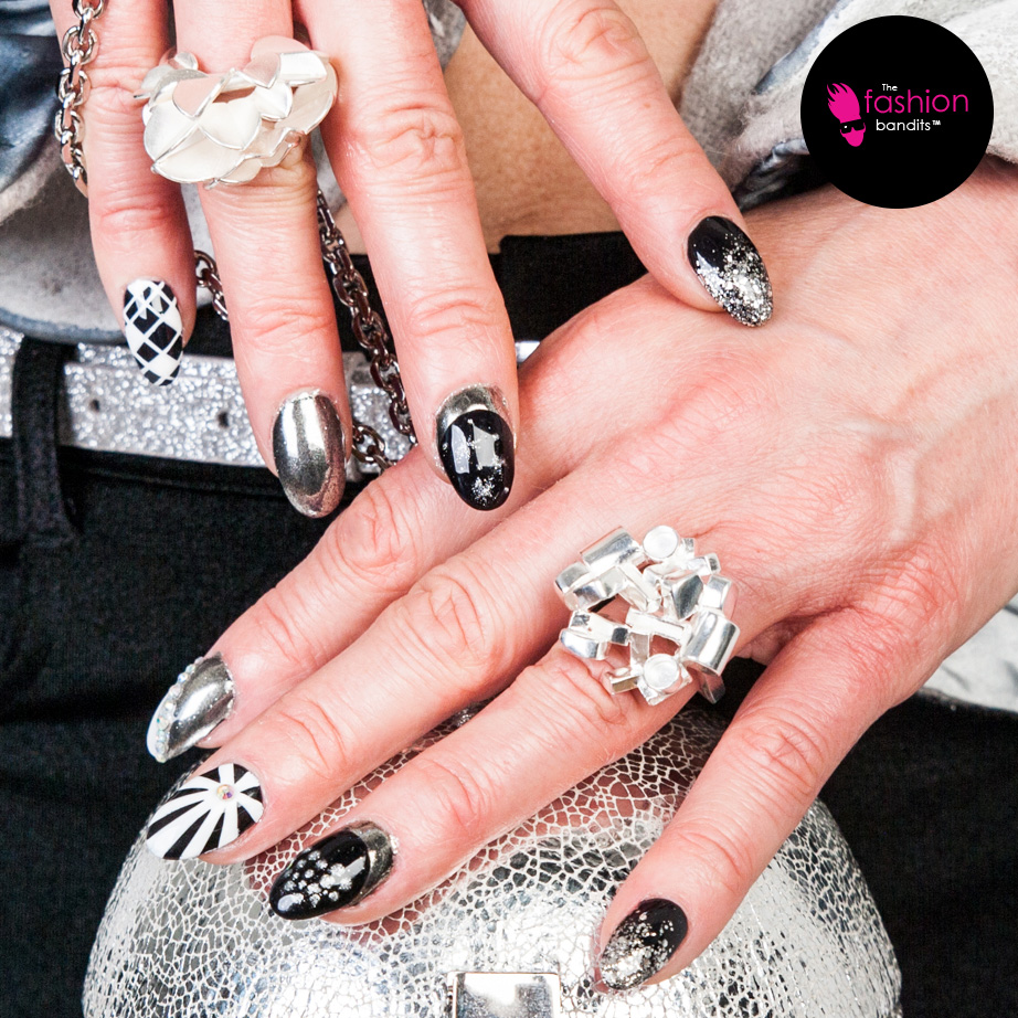 The Fashion Bandits & Benedikte St.Pierre - fond of silver, nails and rings