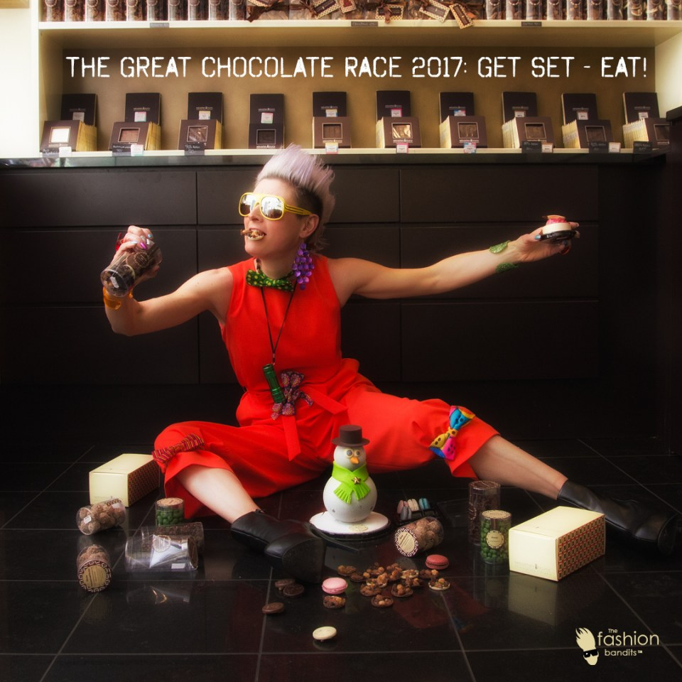 The Chocolate race is on with The Fashion Bandits Benedikte St.Pierre