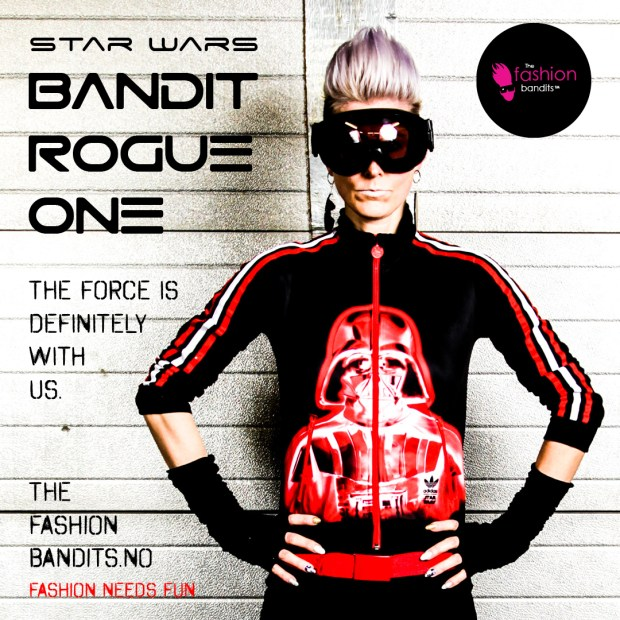 the Fashion Bandits Benedikte St.Pierre is The Bandit Rogue One from Star Wars