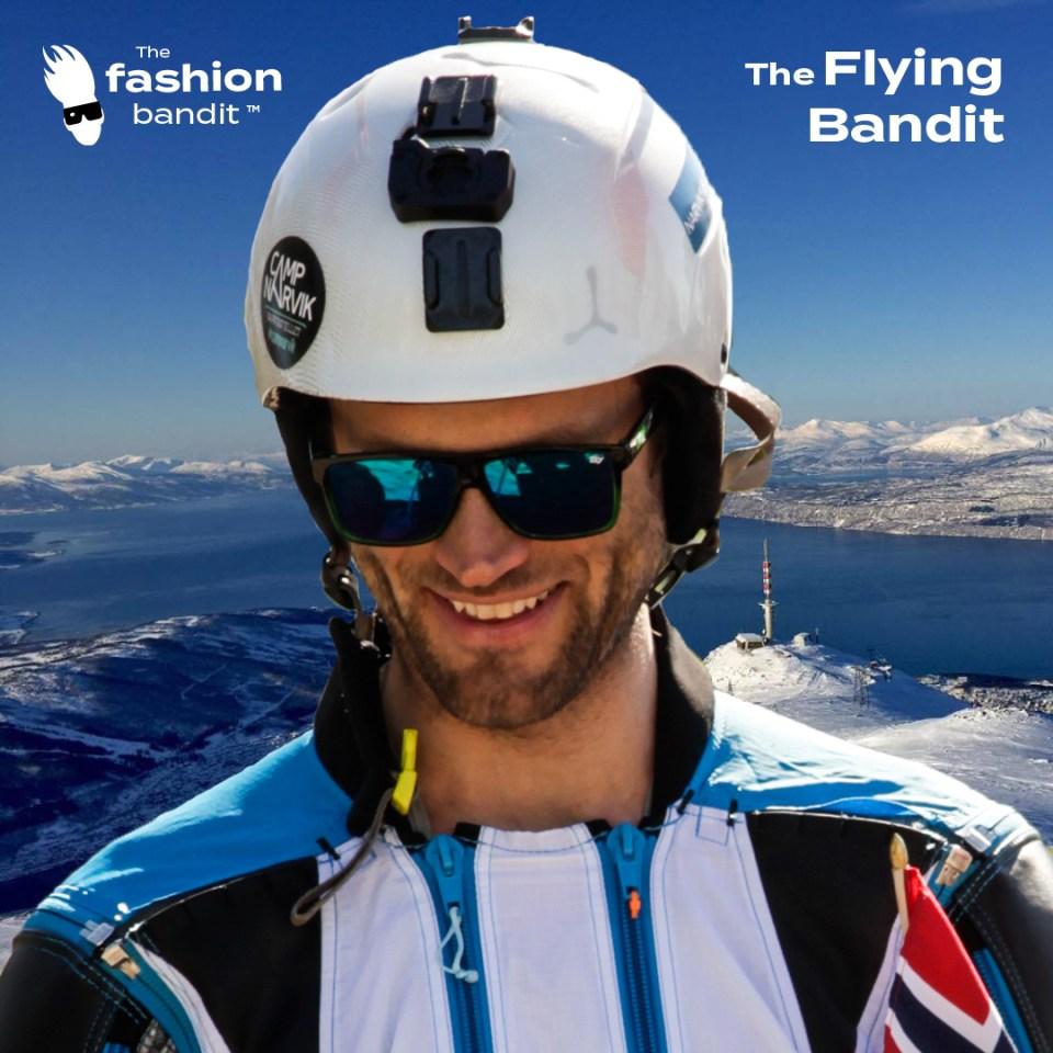 Portrait of The Flying Bandit Alf-Ole Føre