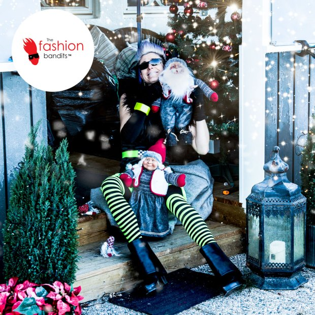 The Fashion Bandits and Benedikte St.Pierre distressed over Christmas portraits...