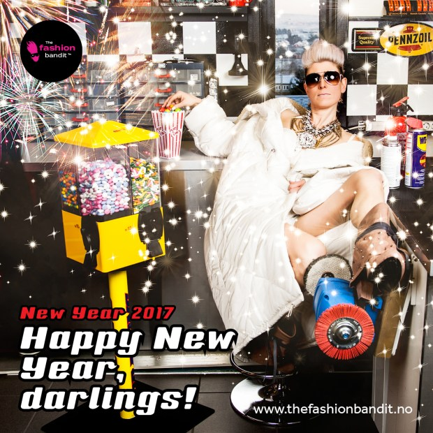 Happy New Year from The Fashion Bandit Benedikte St.Pierre