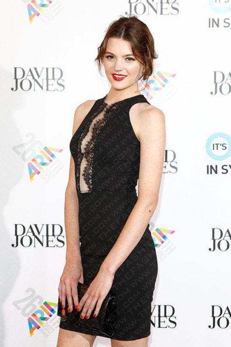 Fashion Blog | Australia's Next Top Model Winner, Montana Cox, At The 2012 Aria Awards.