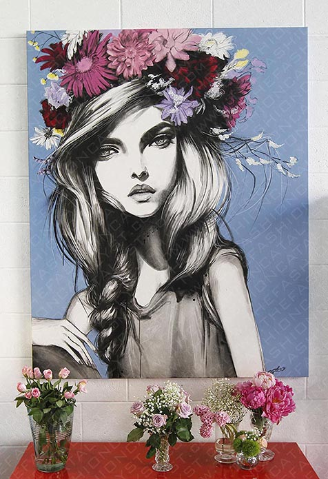 Fashion Blog | Pippa McManus Exhibition: With Flowers In Their Hair.