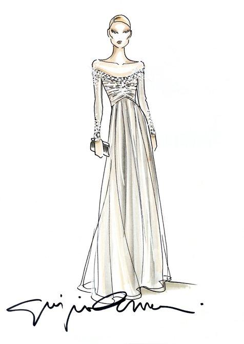 Giorgio Armani Dresses Beatrice Borromeo For The Wedding Of Andrea Casiraghi And Tatiana Santo Domingo
