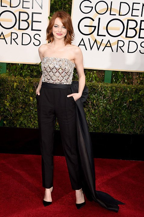Best Dressed On The Red Carpet At The 2015 Golden Globes