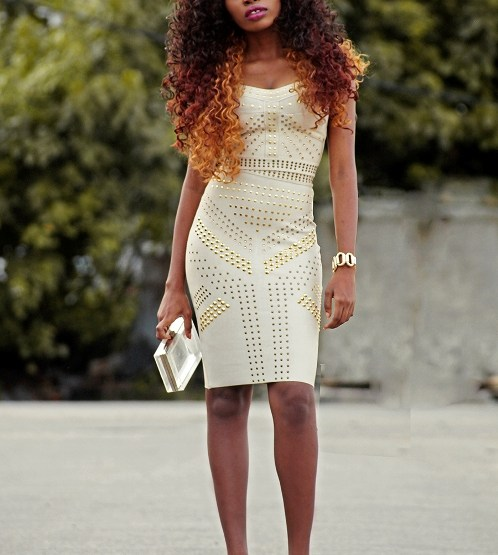 OOTD: The Kewl Shop Bandage Dress
