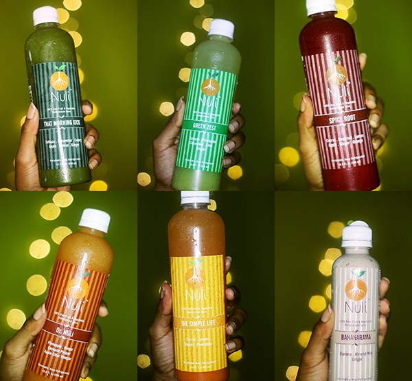 One day juice cleanse - Nuli Juice review