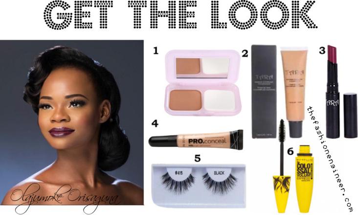 Get Olajumoke Orisaguna's Makeup Look