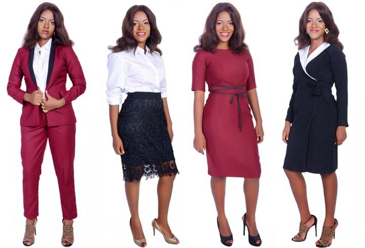 Karen Ubani's Latest Workwear Collection is Everything!